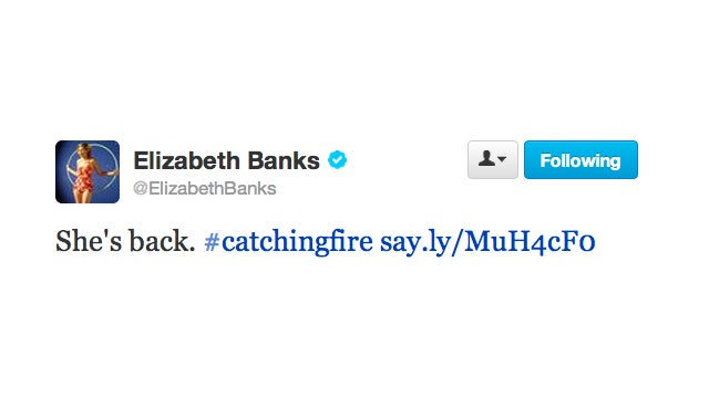 The Odds Are in Her Favor: Elizabeth Banks Is on the Set of Catching Fire