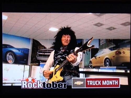 Chevy Wants To Get In On Rocktober, Too