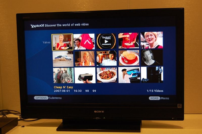 Hands On With Sony's Bravia Internet Video Link (Plus Gallery)