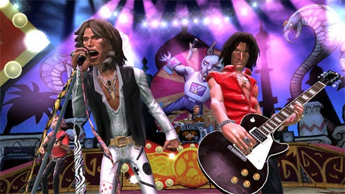 "Aerosmith The ""First Band Of Many"" To Get Guitar Hero Treatment"