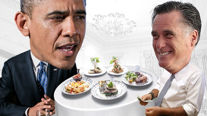Advice for President Obama and Mitt Romney As They Head Into Today's Awkward One-on-One Lunch