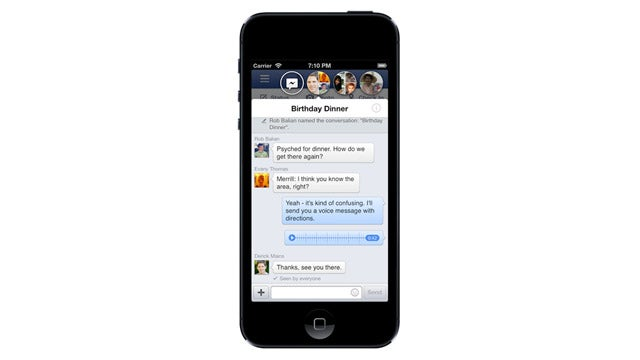 Today's Facebook iOS Update Brings Chat Heads to Your iPhone