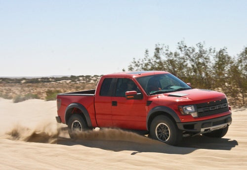 Ford F-150 SVT Raptor Supercrew: Four Doors For Your Pleasure