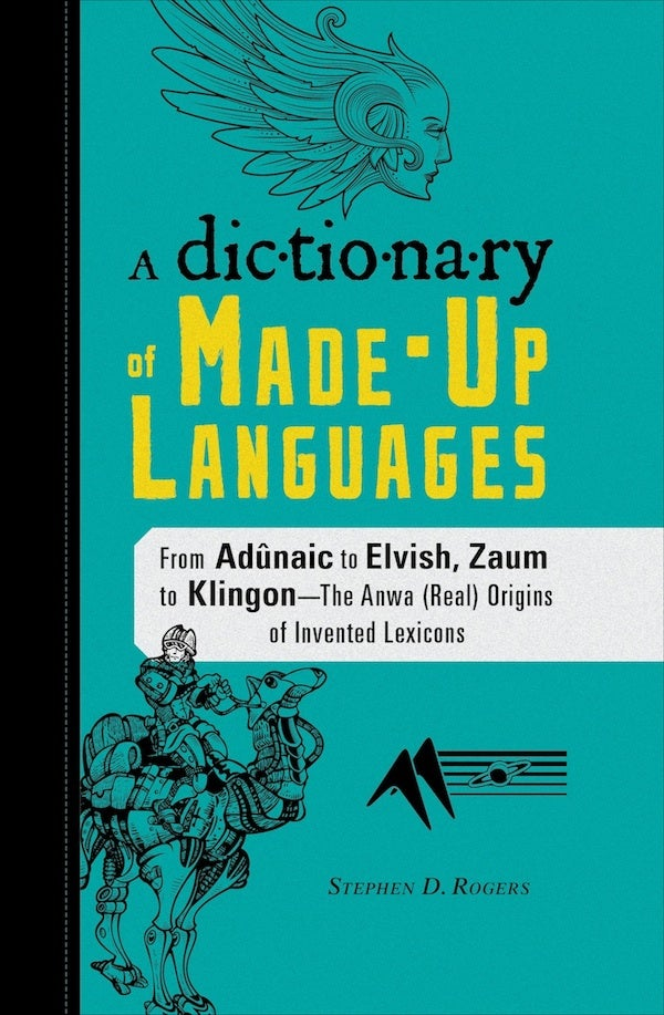 How to organize a dictionary of made-up languages
