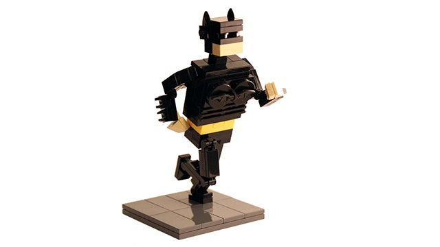 Of course, there had to be a Lego BatKid too
