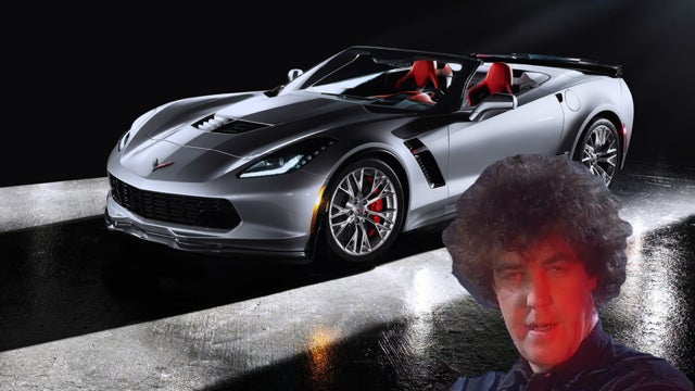 Jeremy Clarkson Loves The Corvette Stingray