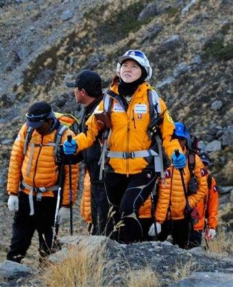 South Korean Woman Sets Climbing Record