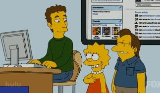 Facebook CEO's Humanizing Simpsons Cameo
