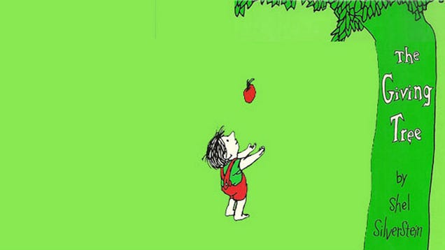 The Giving Tree Is Sad Because Shel Silverstein Hated Happy Endings The Giving Tree And The Tree Was Happy
