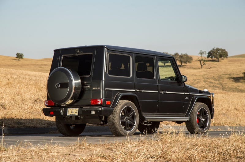 Just read the review of the G63 AMG.