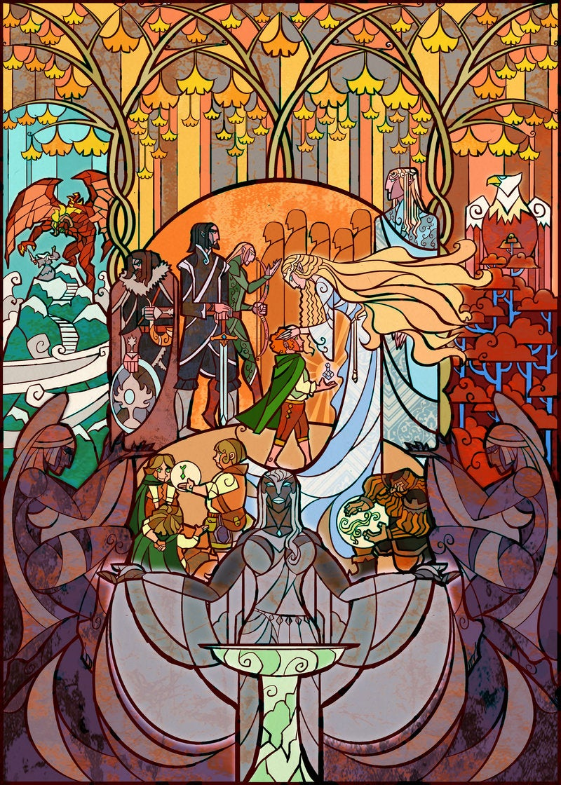 Wonderful Lord of the Rings Art That Goes On And On