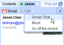 Google Talk adds Group Chat