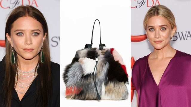 Olsens Unveil New $16,900 Backpack Crafted from Old Coonskin Caps They Dyed with Kool-Aid
