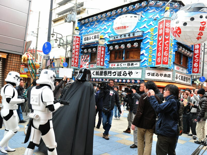 Darth Vader Invades South Osaka (Noooooooooo!)