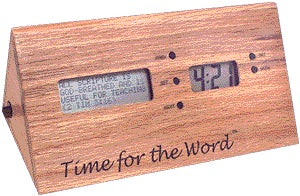 Time for the Word Catholic Clock