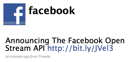 Facebook Imitates Twitter Once More