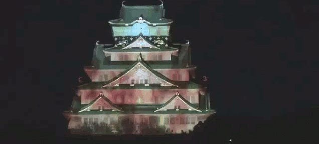A Real Japanese Castle Appears To Crumble Before Your Very Eyes