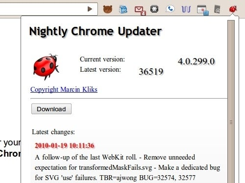 Nightly Chrome Updater Keeps Your Browser on the Bleeding Edge