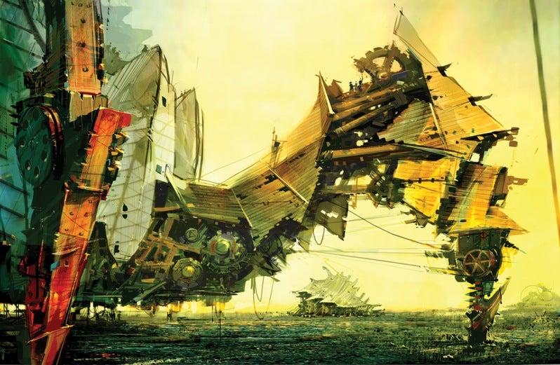 Massive Crabfort Crushes Your Landscape