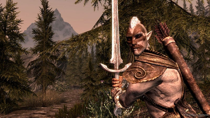 Yell These Words at Skyrim Using The Kinect Patch