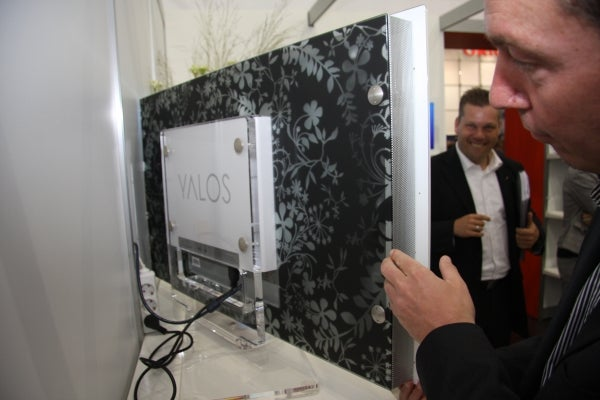 Gold and Jewels Yalos LCD TV Costs Too Much, Looks Like It has The Pox
