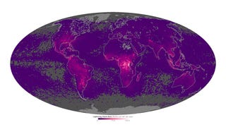 A Map Of Where You'll See The Strongest Lightning Displays In The World