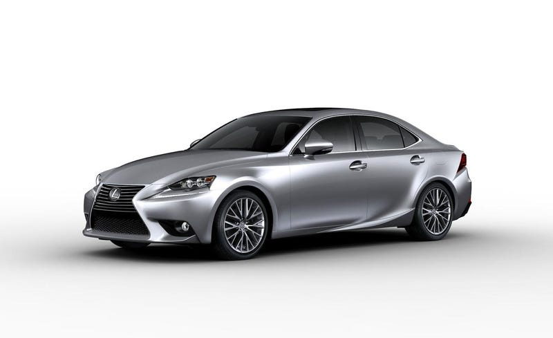 Talks about the IS and Q50 last night