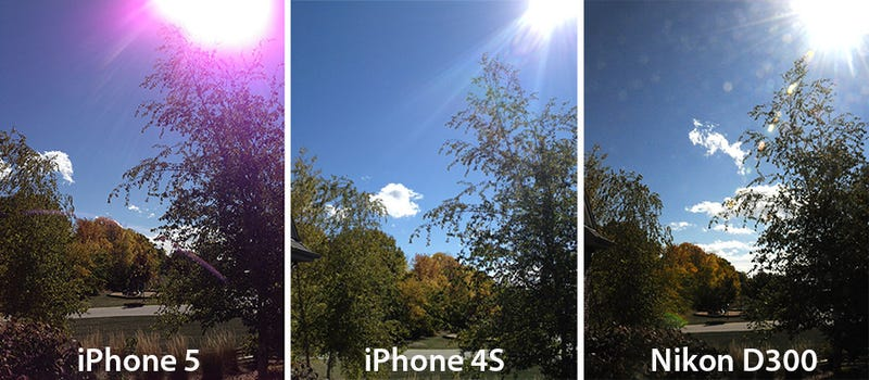 Is Your iPhone 5 Camera Seeing Purple?