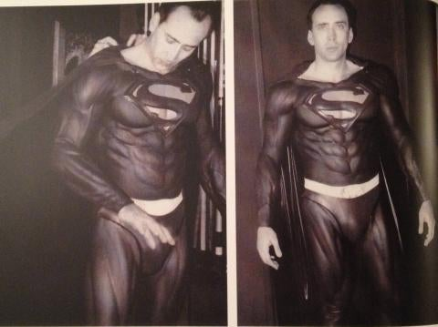 Are the latest ridiculous Nic Cage Superman test shots real or fake?