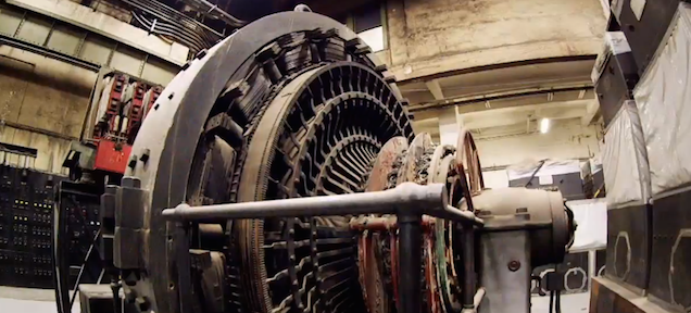 What is this machine inside a secret underground room under NYC?