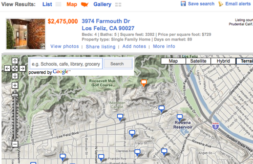 Roost Finds Real Estate Listings in Your Neighborhood