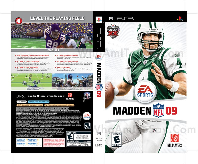 First Look At New Brett Favre Madden Jets Cover!
