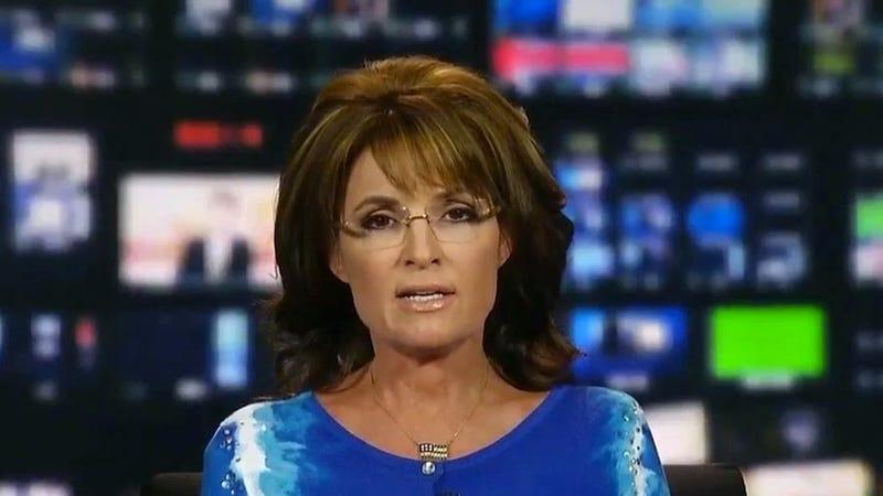 Regular Person Sarah Palin Got a Speeding Ticket