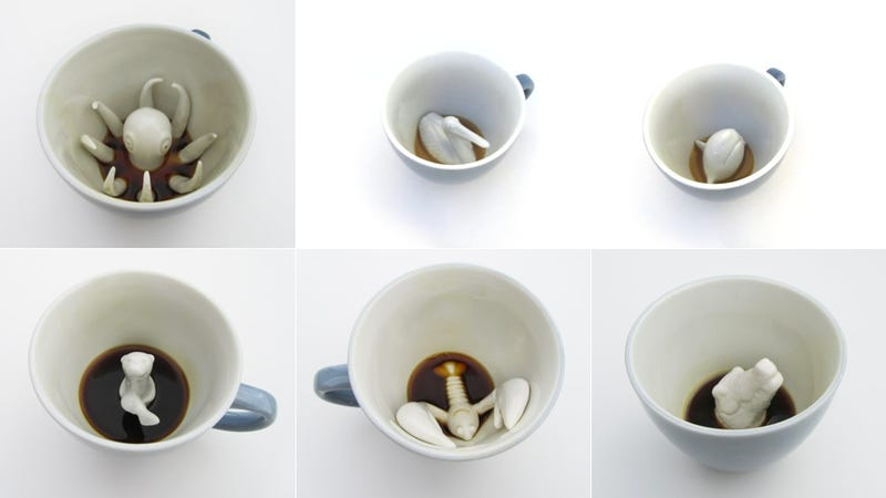 Don't Be Startled By the Animals In Your Cup of Coffee