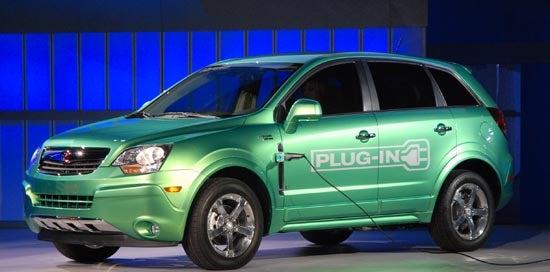 Detroit Auto Show: Saturn Vue Plug-In Hybrid