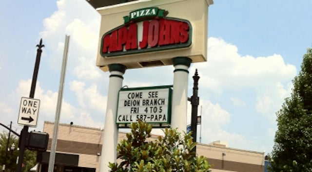 Deion Branch Will Be At A Papa John's In Louisville For One Hour On Friday