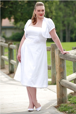 Plus-Size Bridal On An Anorexic Budget: Now At A Mall Near You