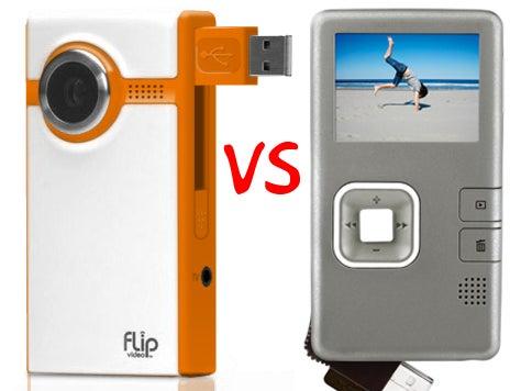 Cheap Camcorder Showdown: Creative Vado Vs. Flip Ultra (Vado Looks Better, Flip Shoots Better)