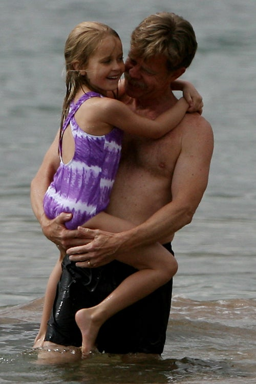 William H. Macy & Felicity Huffman Frolic By The Sea