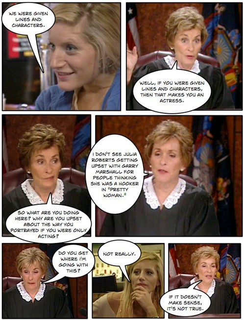 Comic Confrontations: Judge Judy Vs. Racist Reality Show Socialite