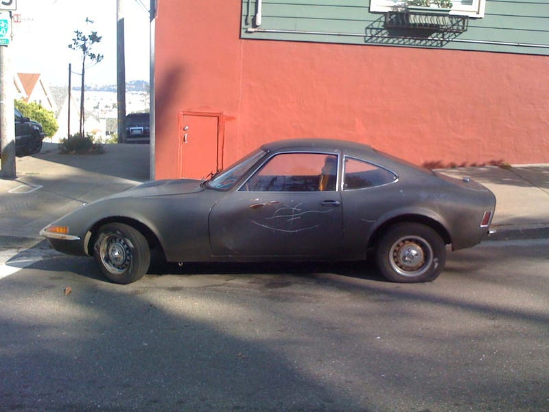 DOTS-O-Rama Sunday, San Francisco Edition: 1971 Opel GT