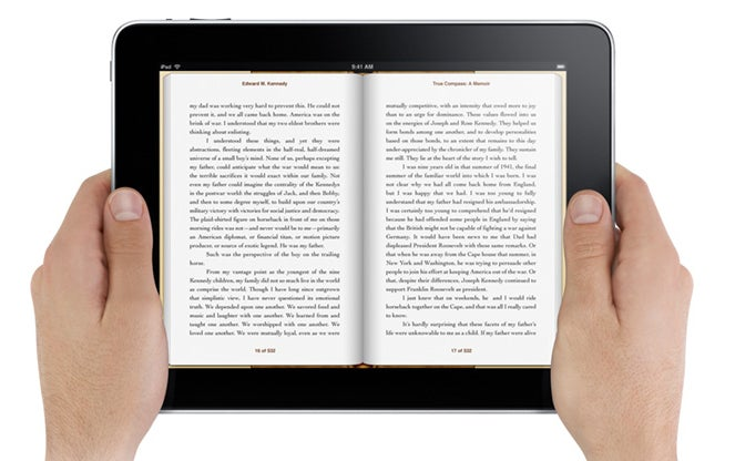 Apple's iPad Will (Perhaps Controversially) Read E-Books Aloud