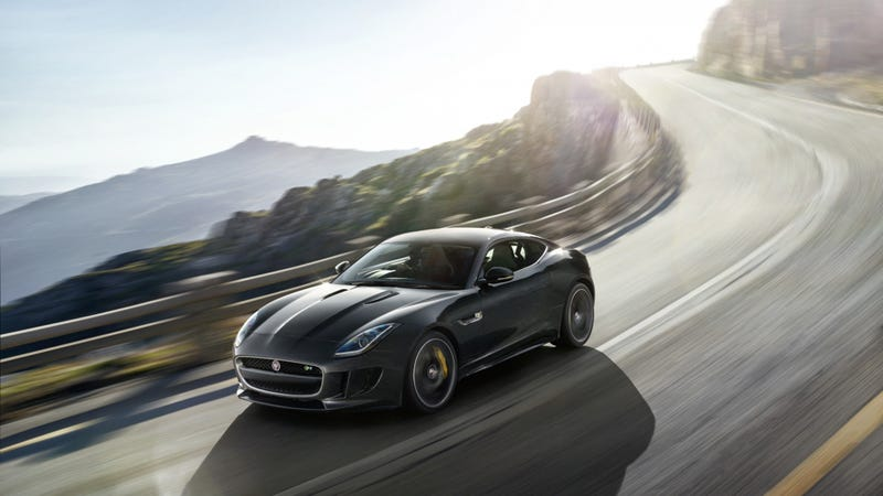 Your Ridiculously Awesome Jaguar F-Type Coupe Wallpaper Is Here