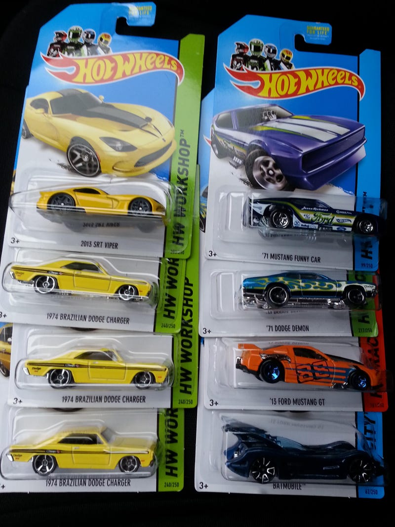 Lunchtime Hot Wheels haul!