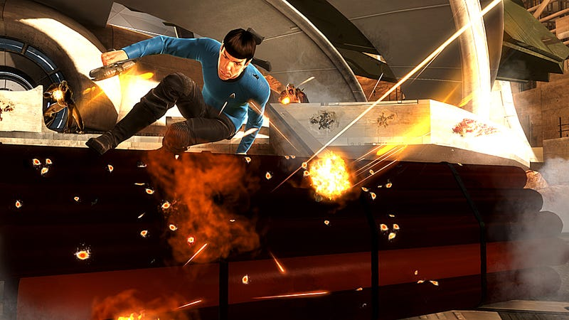 Star Trek Boldly Goes To Your Living Room, and Looks Really Good Doing It