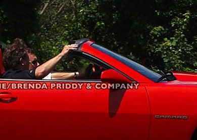 Chevy Camaro Convertible: More Spy Photos