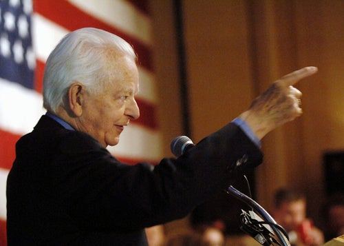Senator Robert C. Byrd Dead at 92