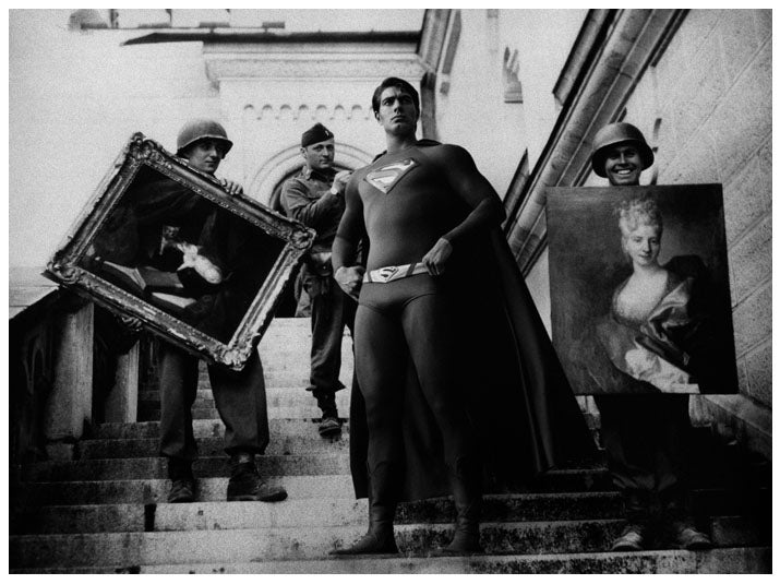 Photos Reveal the Secret Superhero History of WWII