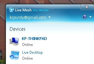 Live Mesh Connects Folders and Desktops Across Windows PCs