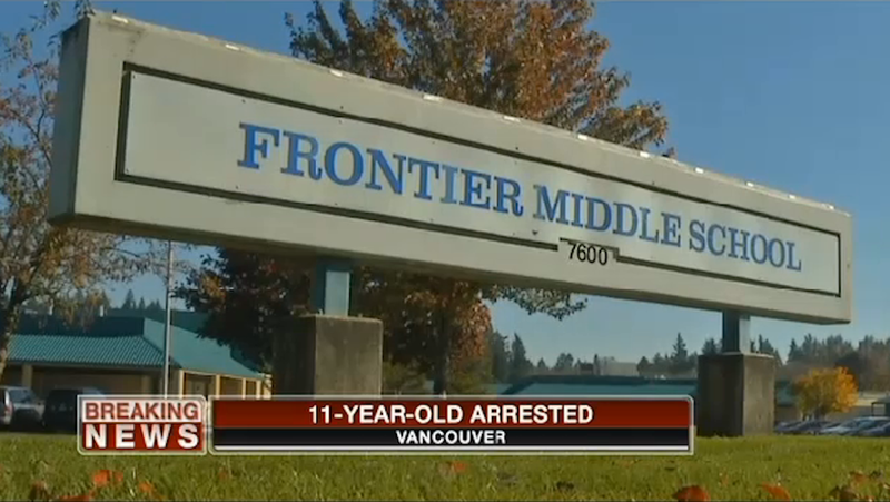 Child Arrested For Bringing Gun and 400 Rounds of Ammo to School